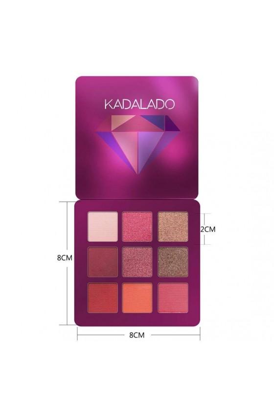 KADALADO Pallette D'ombre A Paupières Mat Couleurs N°05
