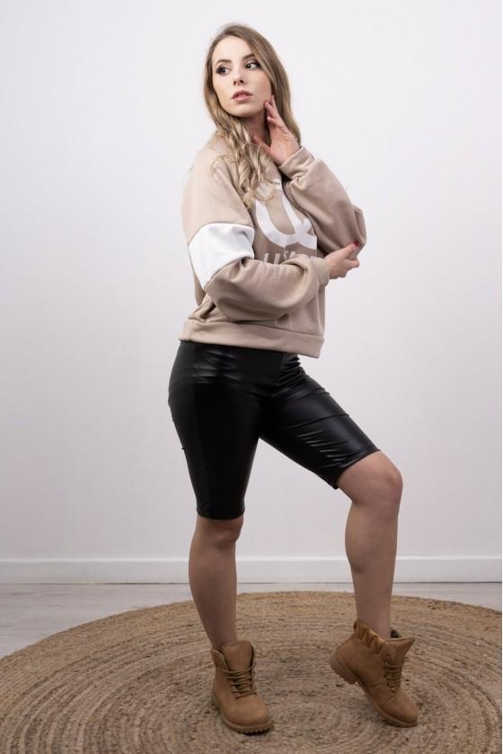 Rangers femme à lacets camel